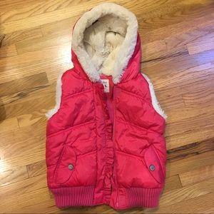 Old Navy Warm 5T Pink Vest